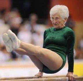 Возможно ли это в 86 лет? Johanna Quaas!